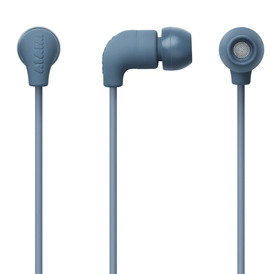 AIAIAI Pipe Earphone w/Mic - Petrol Gradient