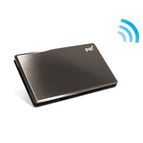 AirDrive Trådløs Wifi Flash Disk Inkl. 16GB SD (Kan udvides efter behov)