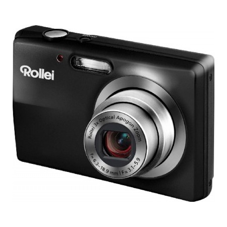 Rollei Compactline 203 Kompakt Digitalkamera 12 Megapixel & 720p HD Video - Sort