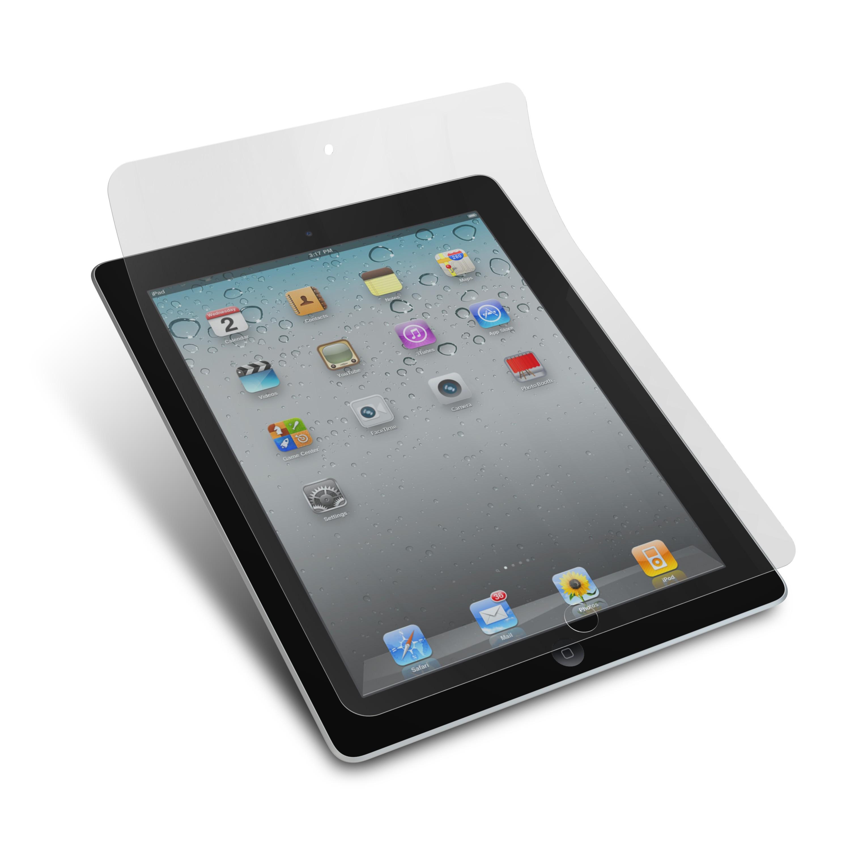 Display Beskyttelsesfilm / Skærmbeskytter til iPad 2 - Crystal Clear