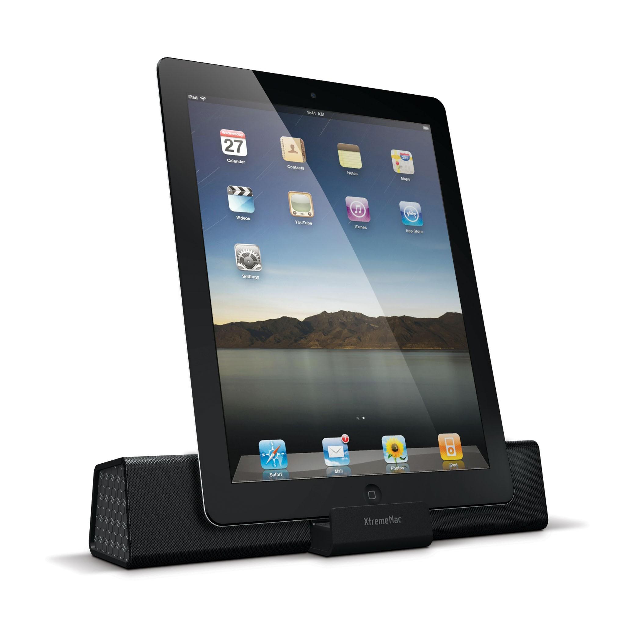 XtremeMac Soma Travel Højtalere til iPad / iPhone / iPod - Sort
