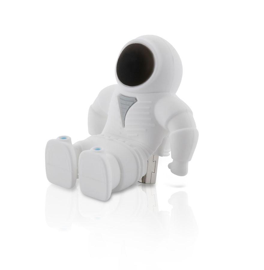Bone Spaceman USB Driver / Stick 4 GB - Hvid