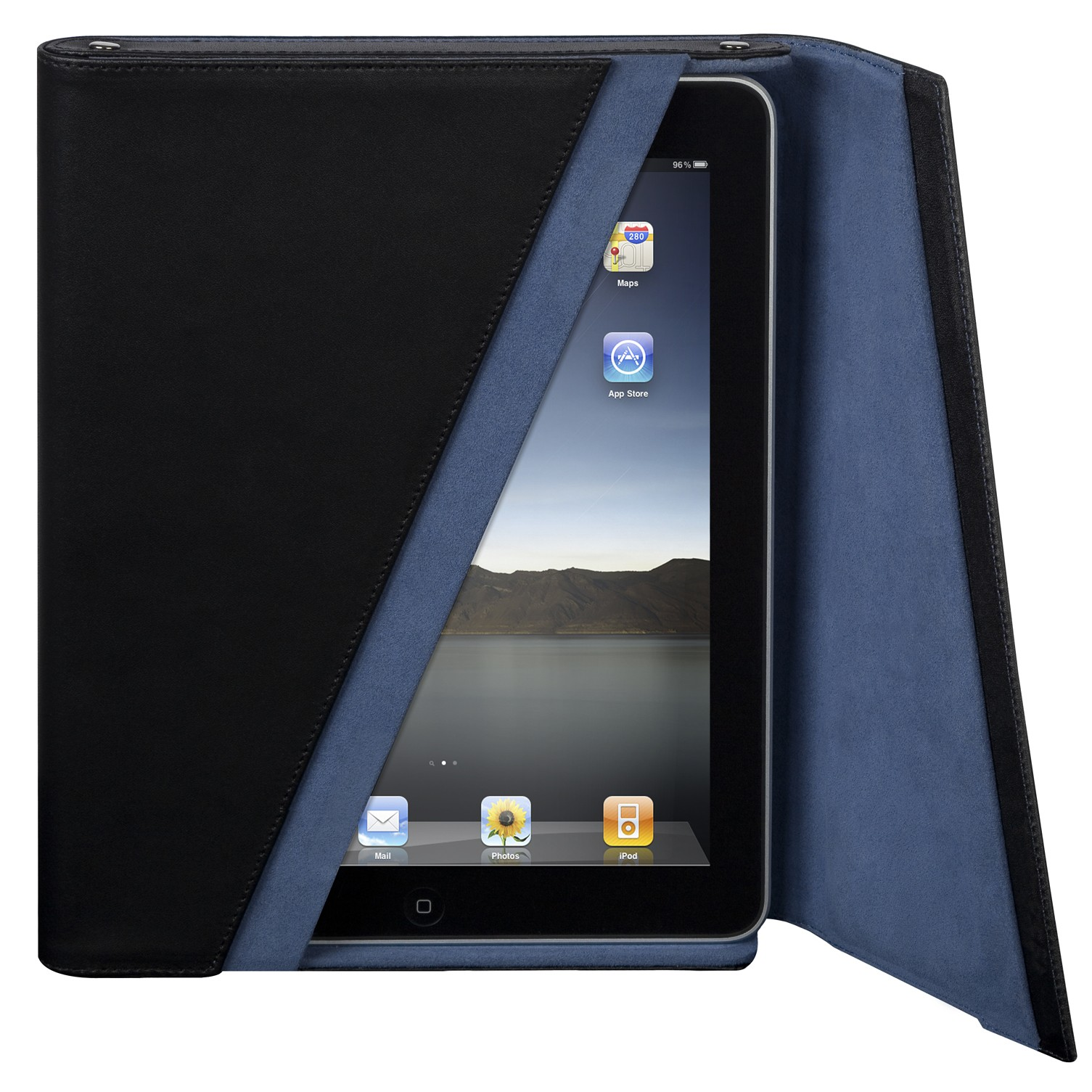 "Targus iPad Leather Z-Case 9,7"" - Sort"
