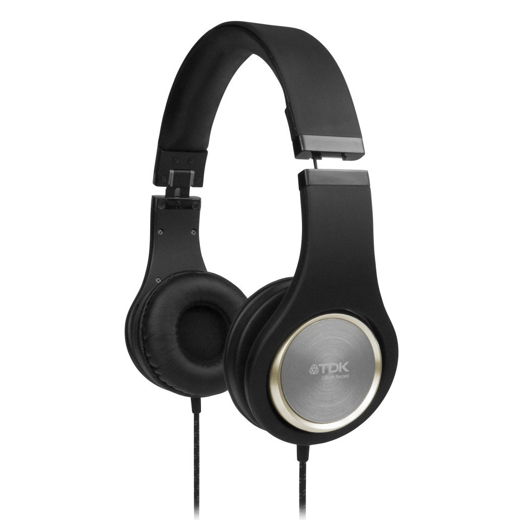 TDK ST700 High Fidelity Headphones - Sort