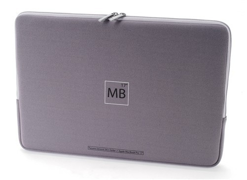 "Tucano Second Skin Sleeve til 17"" MacBook Pro"