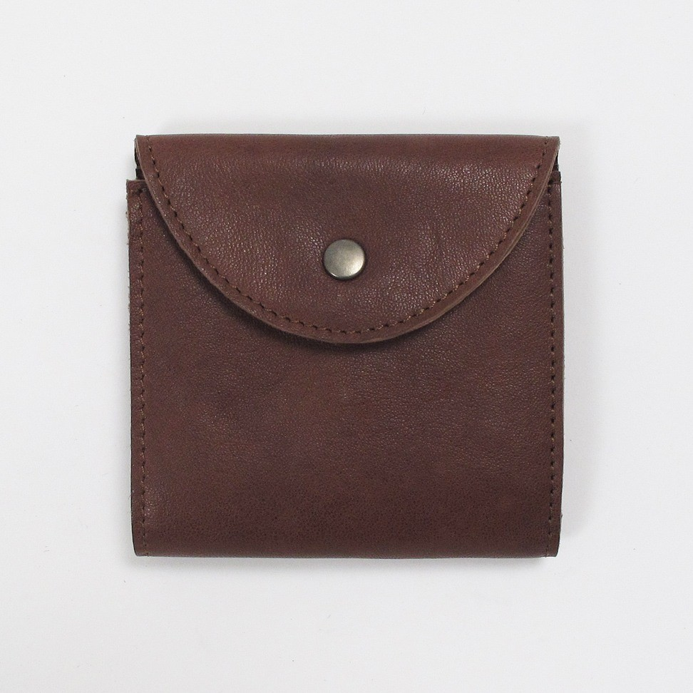 Wood Wood Pocket Wallet - Vintage brown