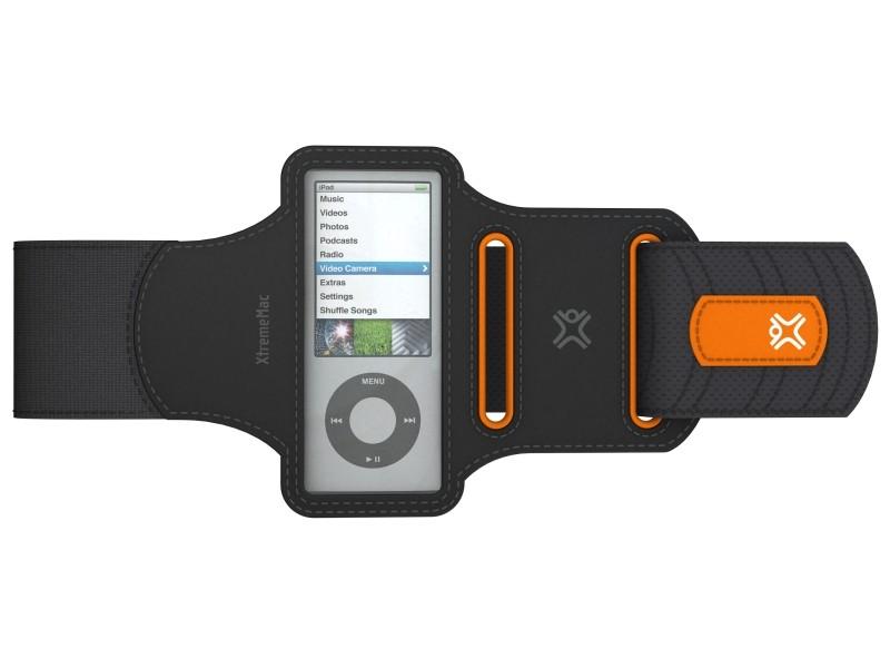 XtremeMac SportWrap Løbearmbånd til iPod Nano 5G/4G/2G/1G - Sort