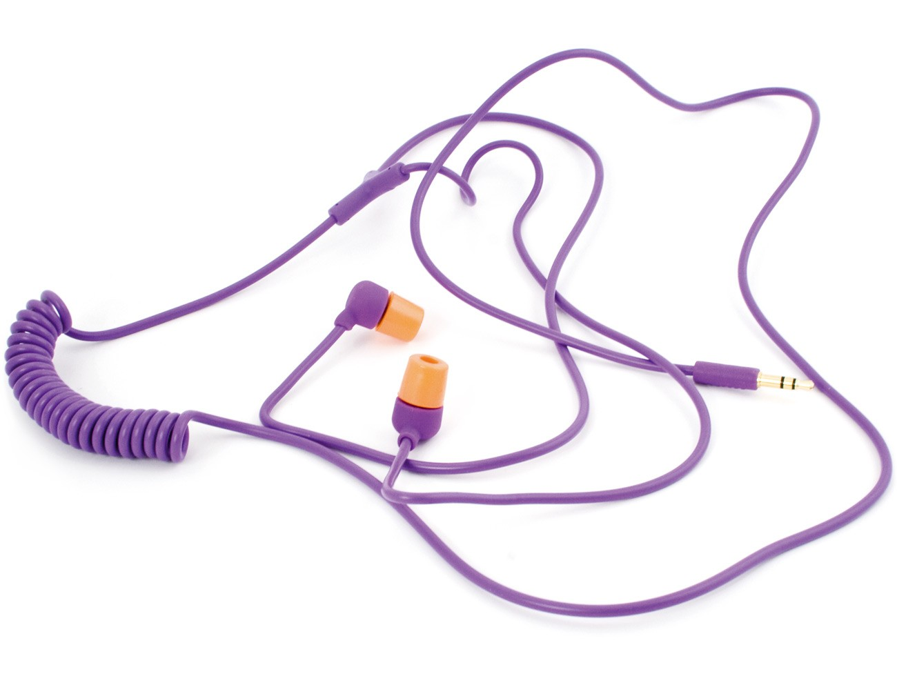 AIAIAI Swirl/Y-model Earphones - Purple