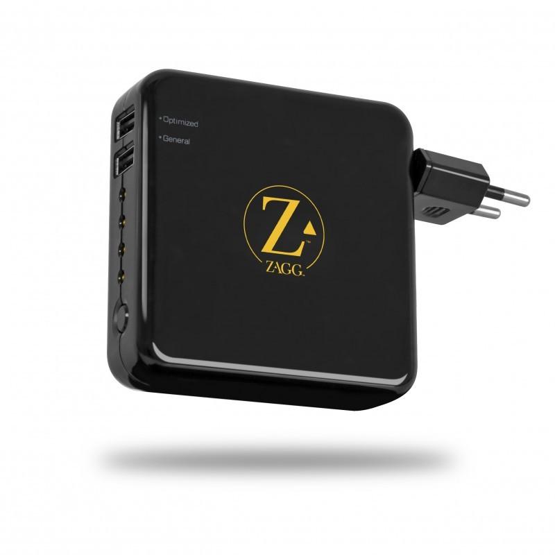 ZAGGsparq 2.0 Mobilt Batteri m. 2 USB Porte - Sort