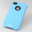 SGP iPhone 4 Case Ultra Thin m/ Screen Protector - Blå