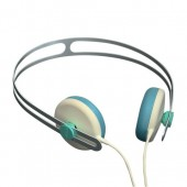 AIAIAI Tracks Headphone w/Mic 1st Gen. - Cream / Blue