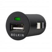 Belkin Micro Billader USB - Sort