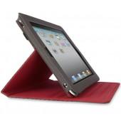 Belkin Flip Folio Stand til iPad 2 - Sort / Rød