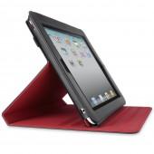 Belkin Verve Folio Stand til iPad 2 - Sort / Rød