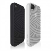 Belkin Case Groove Etui / Cover til iPhone 4S / 4 (2-Pak) - Sort & Hvid