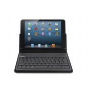 Belkin iPad Mini Keyboard Case Leather Folio - Sort