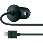 Belkin Biloplader med Lightning Connector - Sort