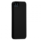 Case Mate Barely There Ultra Tynd Case til iPhone 5 / 5S / SE - Sort