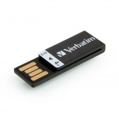 Verbatim Clip-it USB-drev 4 GB - Sort