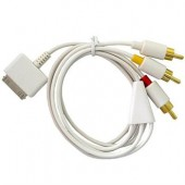 Apple iPhone 3G / 3GS & iPod Component AV Cable