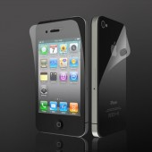 Display Beskyttelsesfilm til iPhone 4 Crystal Clear - Front & Bagside