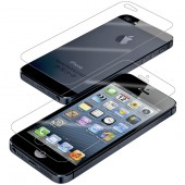 Display Beskyttelsesfilm til iPhone 5 Crystal Clear - Front & Bagside