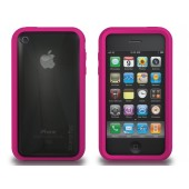 XtremeMac Microshield Accent iPhone 3G/3GS Inkl. Skærmfolie - Pink