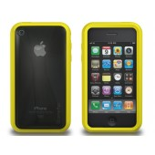 XtremeMac Microshield Accent iPhone 3G/3GS Inkl. Skærmfolie - Gul