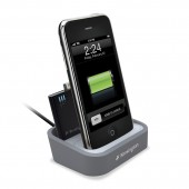Kensington Opladnings Dock m/ Mini Batteri til iPhone & iPod - Grå