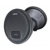 Nokia HF-310 Bluetooth Carkit / Højtalertelefon m. sugekop + solskærms klip + fæste til instrumentbræt - Sort