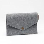 P.A.P Majvallen iPad Mini Envelope Filt Cover - Lysegrå