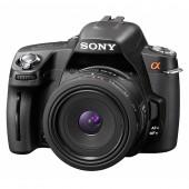 Sony A390L Spejlrefleks Kamera 14,2 megapixel + 18-55mm Lens Kit - Sort
