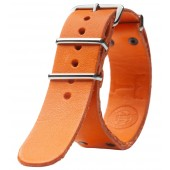 Triwa Læder NATO Rem - Orange