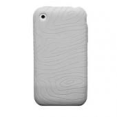 Tykt Gummi Cover til iPhone 3G/3GS - Hvid