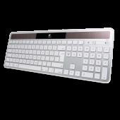 Logitech Wireless Solar DK Keyboard til Mac - Sølv