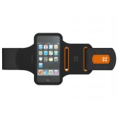 XtremeMac Sportwrap Løbearmbånd til iPhone 3G/3GS/4/Touch - Sort