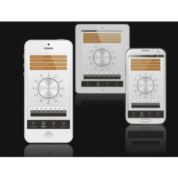DAY trådløst stegetermometer til smartphone   tablet - Sort 756b10f356161