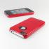 SGP iPhone 4 Case Ultra Thin m/ Screen Protector - Rød