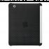 iPad 2 Perforeret Snap On Backcover Kompatibel med Smartcover - Sort